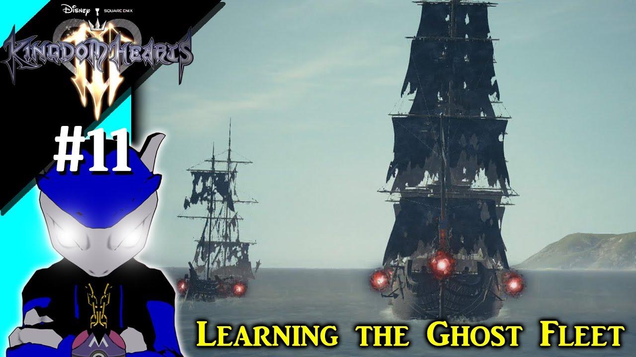 kingdom hearts 3 ghost ship
