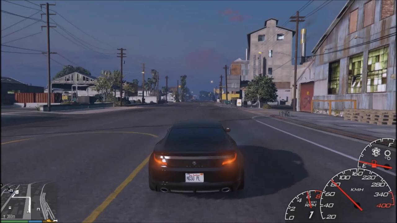 GTA 5 - LeFix Speedo + dodatek LeFix Simple fuel (Mod  asi/ScripthookV)  [Odcinek 35]