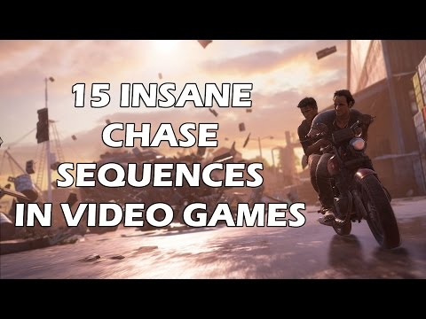 15 INSANE Chase Sequences in Video Games
