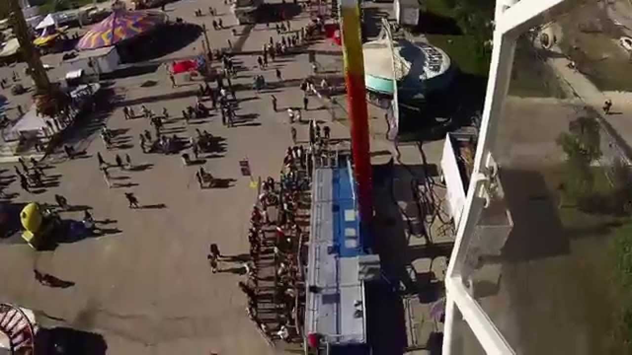 Max 80 Winnipeg >> Mach 3 (Thrill Ride) - GoPro POV [Red River Ex] - YouTube