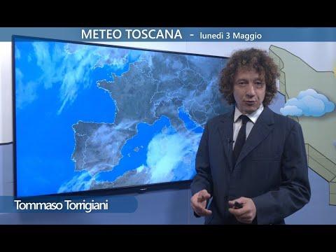 Il meteo di oggi in Toscana - nuvolosità variabile con ampi rasserenamenti; temperature gradevoli.