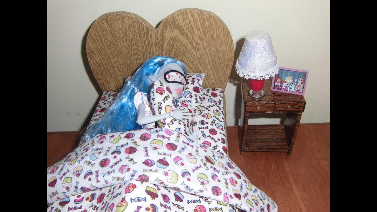 Camas de monster high como fazer uma cama para boneca - Camas monster high ...