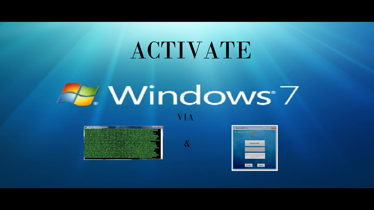 windows 7 ultimate activation using cmd
