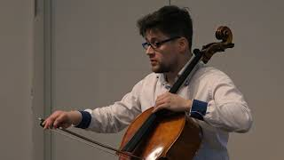 W. Lutoslawski - Grave for Cello and Piano ( Vasily Bystroff and Gryta Tatoryte )