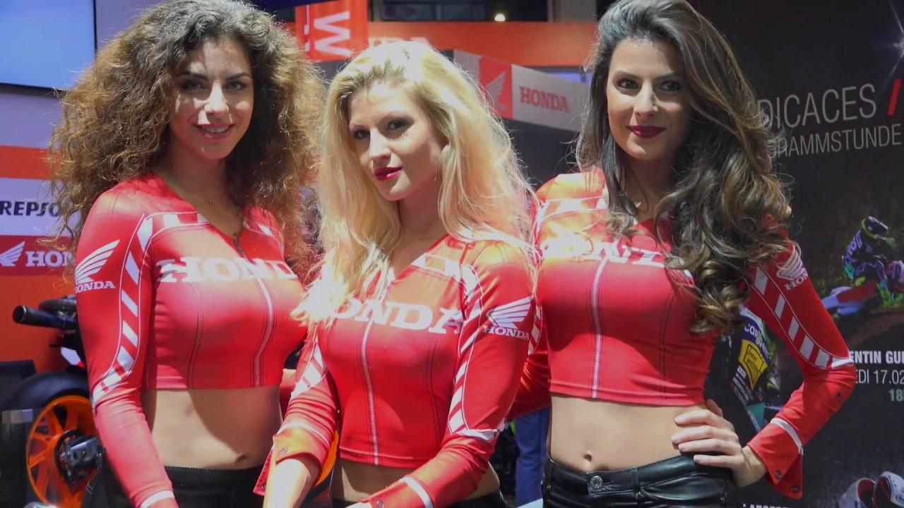 honda girls swiss moto 2017 youtube