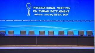 Live  Syria talks set to commence in Astana
