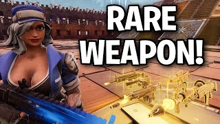 Kid has extremely New RARE GUN? 😂🧐 (Scammer Get Scammed) Fortnite Save The World