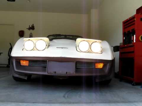 81 corvette lights test youtube Engine Wiring Harness Wiring Harness Connectors