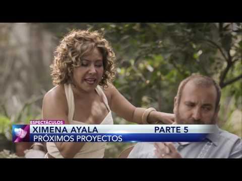 Ximena Ayala revela cuáles son sus próximos proyectos