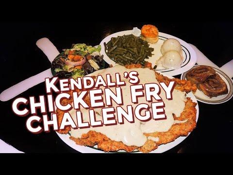 KENDALL'S CHICKEN FRIED STEAK CHALLENGE!!