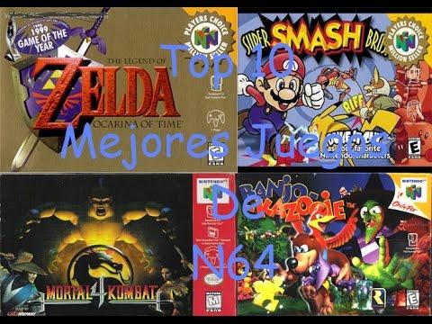 Top 10 Los Mejores Juegos De N64 Mejor Audio Youtube