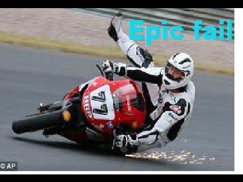Epic motorbike fails - YouTube