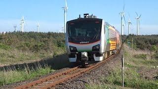 HB-E300系 快速リゾートあすなろ下北4号 JR大湊線 有戸駅~吹越駅間(2015/05/31)
