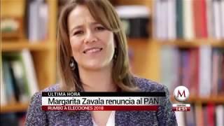 Margarita Zavala renuncia al PAN y se lanza como independiente