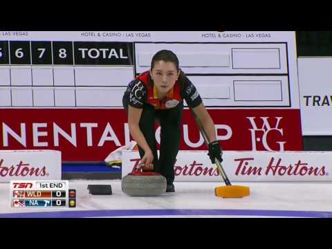 2017 WFG Continental Cup of Curling - Mixed Doubles - Svae/Motohashi vs. Jones/Laing