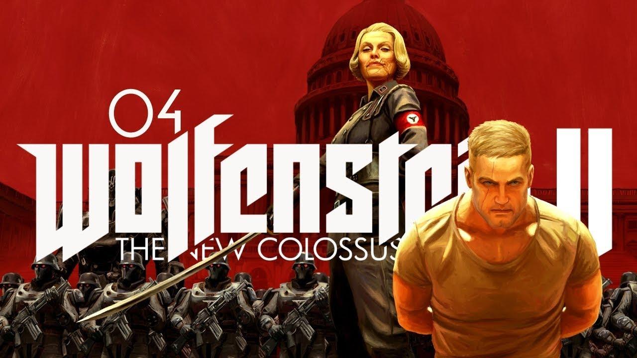 Wolfenstein 2: The New Colossus (PL) #4 – Nieziemski zwrot akcji (Gameplay PL / Zagrajmy w)