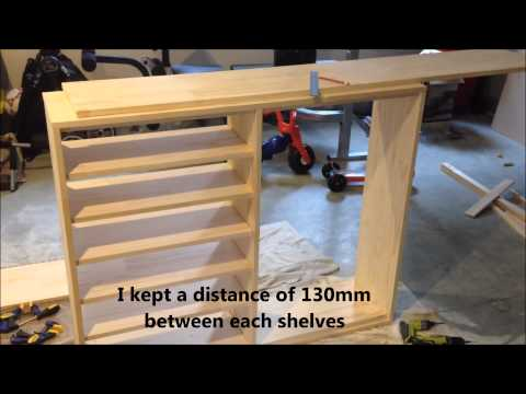 DIY Making A Shoe Cabinet