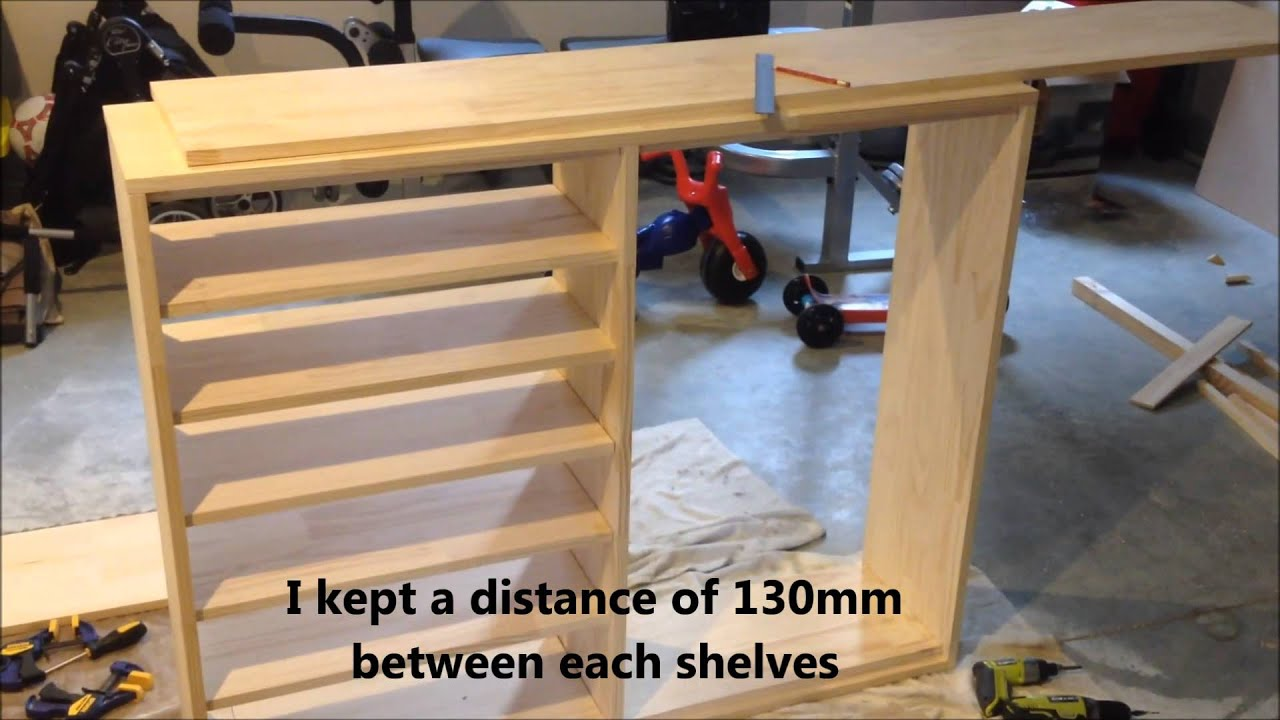 DIY Making A Shoe Cabinet   YouTube Part 59