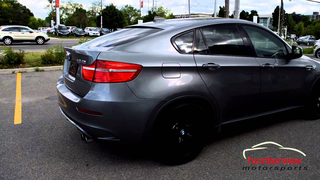 Bmw X6 Gray Youtube