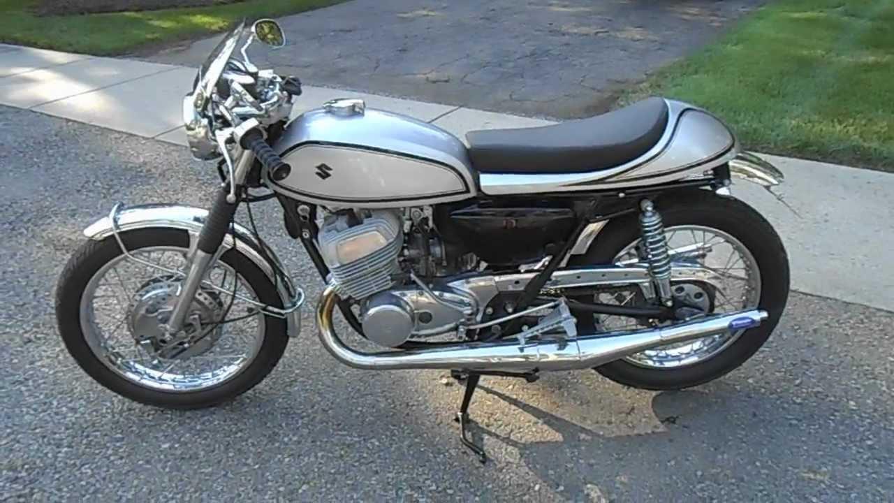 "1971 suzuki t500 ""manx titan"" cafe racer - youtube"