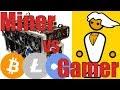 Gamer vs Kryptowährung Miner | PC Gaming in Gefahr