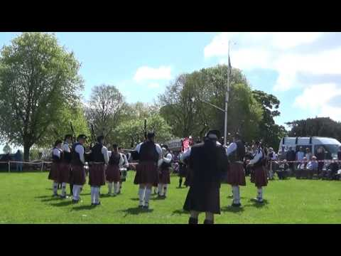 McNeilstown Pipe Band @ Ards & North Down Pipe Band Championships 2016