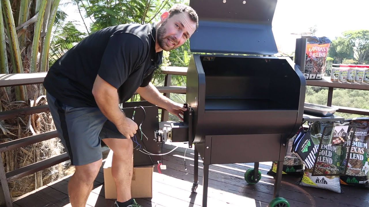 Replace Auger Assembly On A Green Mountain Grill Youtube