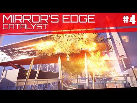 Explosion and Benefactor | Mirror's Edge Catalyst Gameplay Part 4