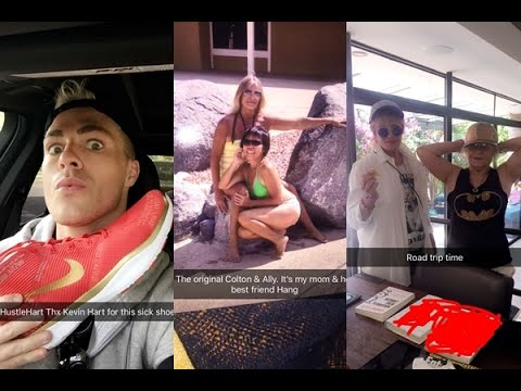 Colton Haynes | ft. Travis & Ally | Snapchat Videos | June 2016