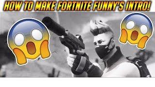 Comment faire L'intro de Fortnite Funny! (Travailler 2019)
