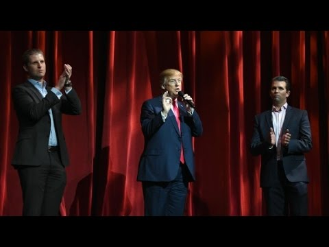 WSJ: Trump sons to scale back involvement