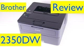 Brother HL- L2350DW Wireless Laser Printer Review