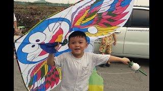 Trò Chơi Thả Diều Doraemon ♥️ My Kids TV ♥️ Đồ Chơi Con Diều Doraemon