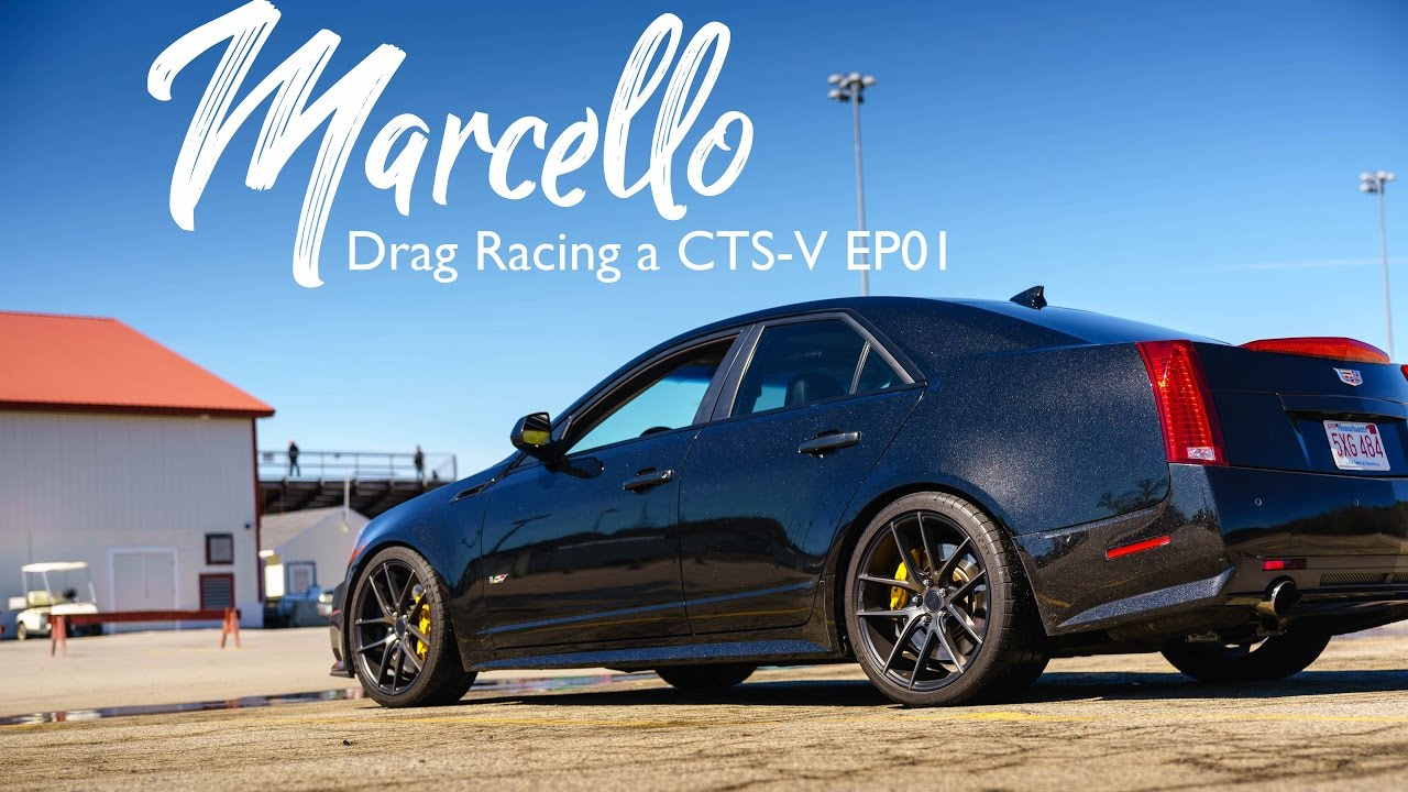 Drag Racing A 6 Speed Cts V Ep01 Youtube