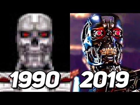 Evolution Of Terminator In Games 1990-2019