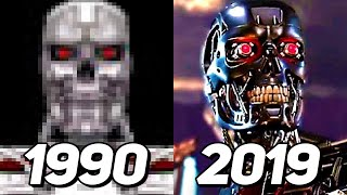 Evolution of Terminator in Games 1990-2019