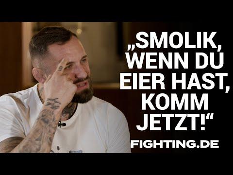 Christian Eckerlin über Smolik-Herausforderung, KSW und Coga vs Trabelsi - FIGHTING