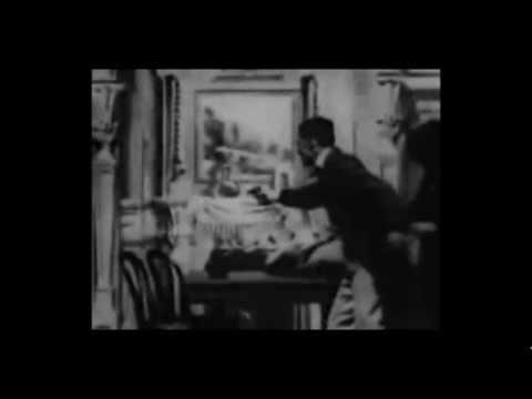 Sherlock Holmes Baffled 1900 Silent Film with added period music