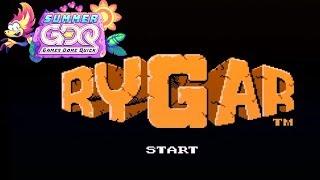 Rygar by Darkwing Duck in  22:53 - SGDQ2019
