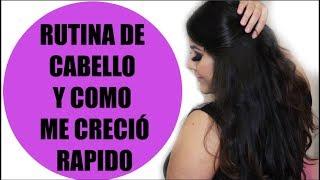 RUTINA CABELLO Y COMO ME CRECIÓ RAPIDO/Vanessa Suárez ♥