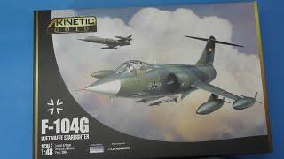 Sprue Review Kinetic 1/48 F-104G Luftwaffe Starfighter