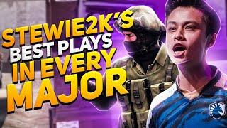 STEWIE2K's BEST PLAYS IN EVERY CS:GO MAJOR!
