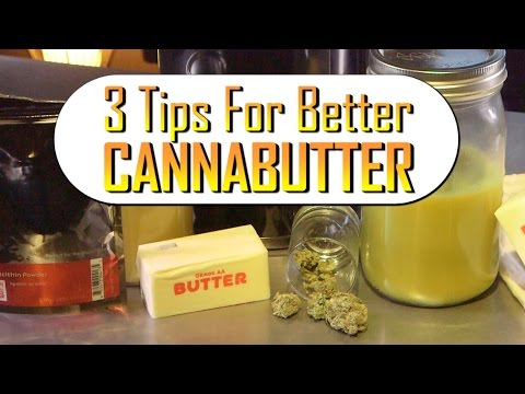 Canna butter one of the alternatives to smoke