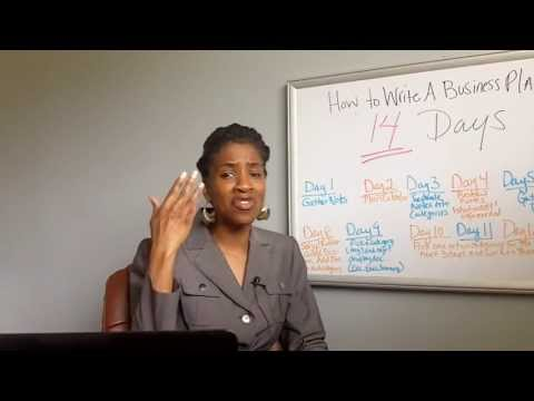 How to Write a Business Plan in 14 Days