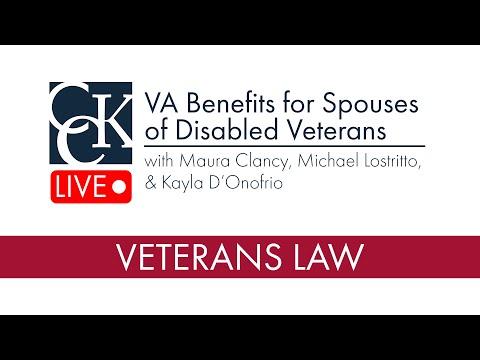 VA Benefits for Spouses of Disabled Veterans