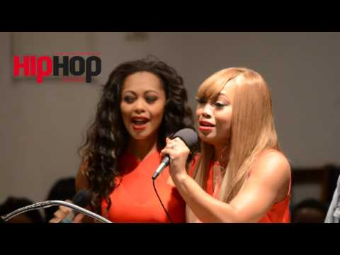 Exclusive: Blaque Group Members Sing at Niesha Reed's Funeral