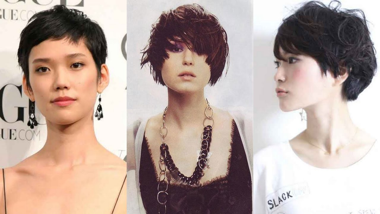 20 best asian short hairstyles for women - youtube