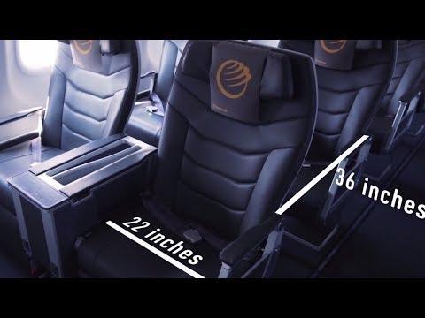 Primera Air Airbus A321neo Economy and Premium Cabin
