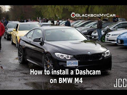 how to install hardwiring kit + dashcam on bmw m4 - blackboxmycar - youtube