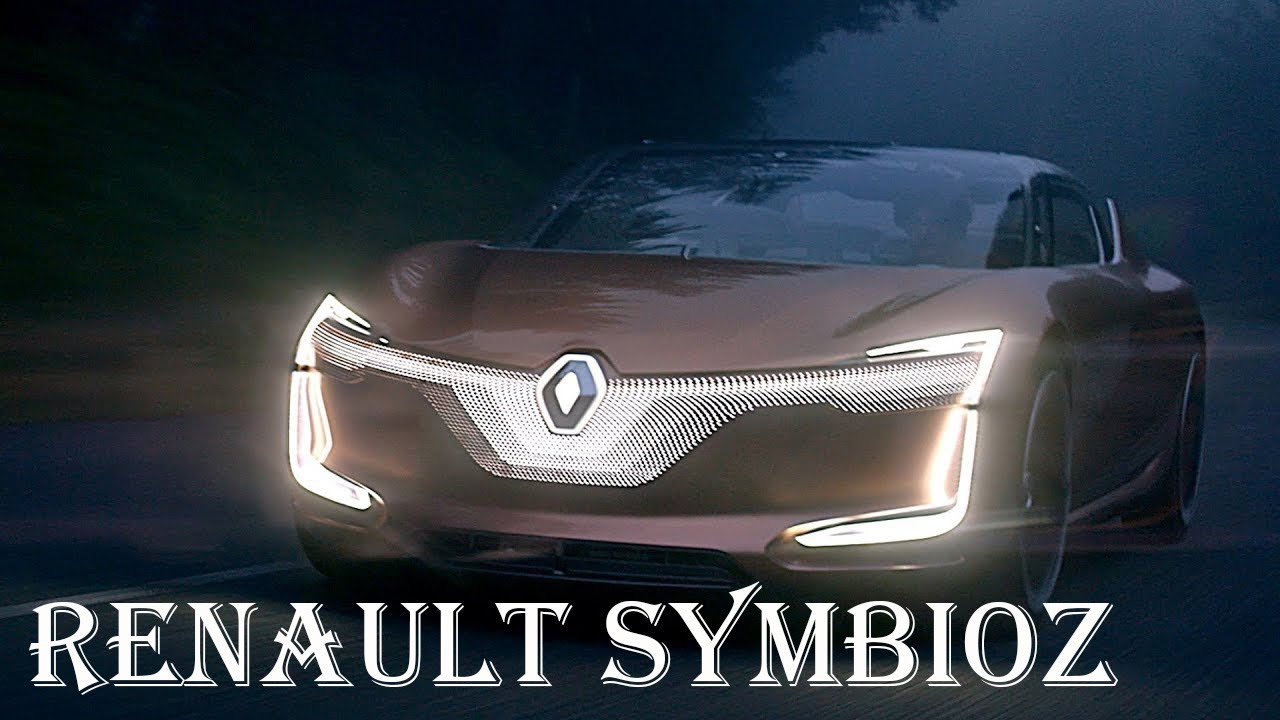 Futuristic Renault Symbioz Concept Car Interior And Features